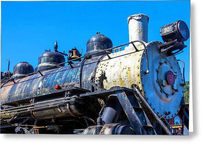 Southern Pacific Train Number 90 Greeting Card by Garry Gay