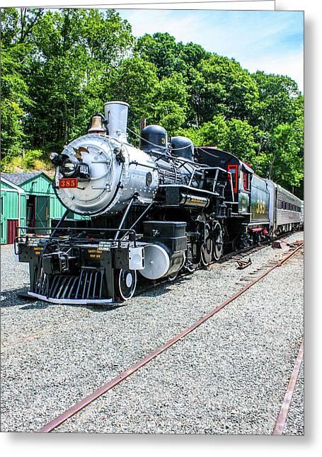 Southern Railway 385 Greeting Card