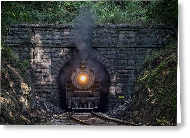 Southern railway 630 greeting cards fine art america southern railway steam locomotive 630 chattanooga tn greeting card m4hsunfo