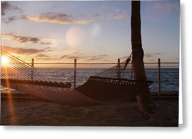 Southernmost Greeting Card by JAMART Photography