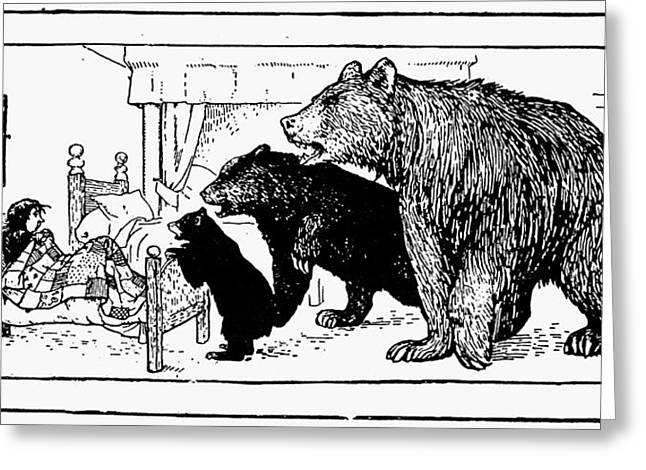 Southey: Three Bears, 1892 Greeting Card