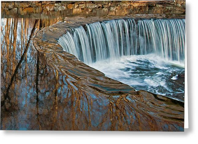 Southford Falls Greeting Card