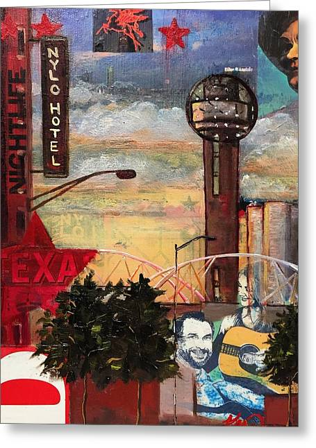 Southside At Sunset Greeting Card by Katrina Rasmussen