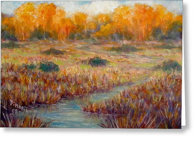 Southwest Autumn Greeting Card by Donelli  DiMaria