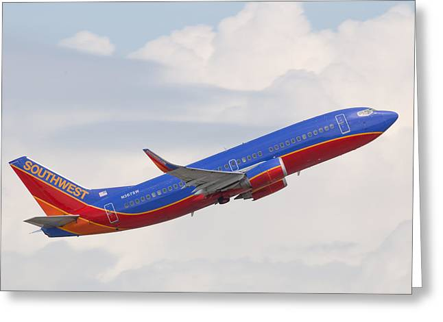 Southwest Jet Greeting Card