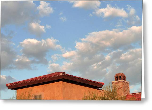 Southwest Skyscape Greeting Card