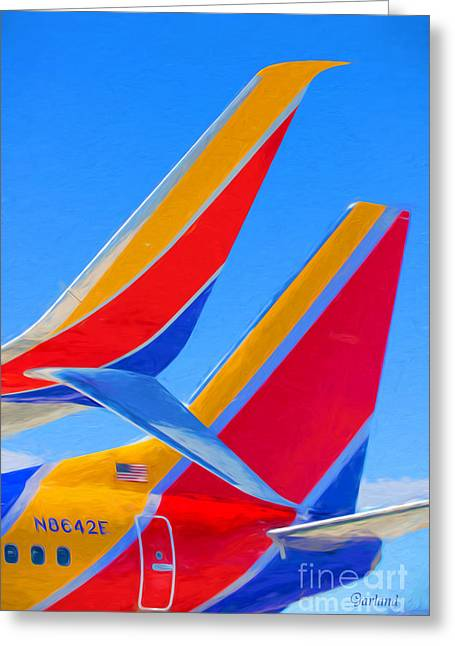 Southwest Tails Greeting Card