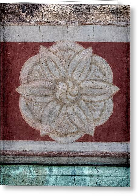 Southwestern Floral Medallion Greeting Card