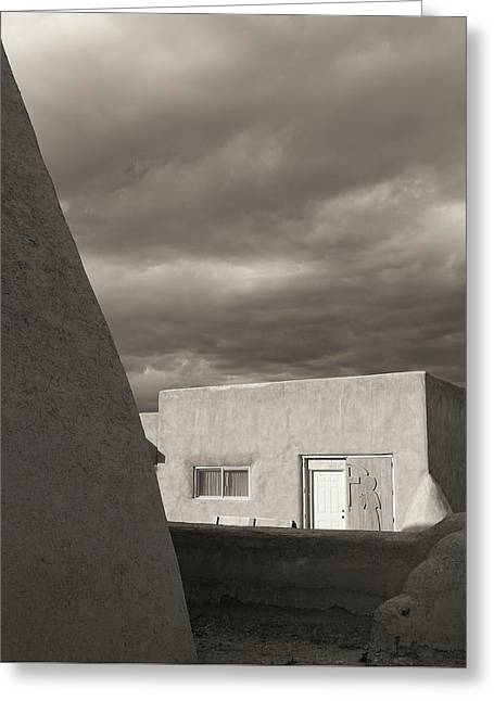Greeting Card featuring the photograph Southwestern Skies by Heidi Hermes