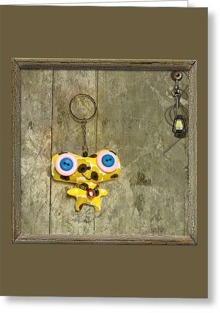 Souvenir Doll Greeting Card by Svetlana Kovyazina
