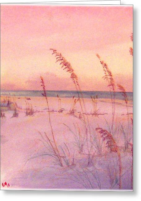 Sowing The Wild Oats Greeting Card by Kenneth McGarity