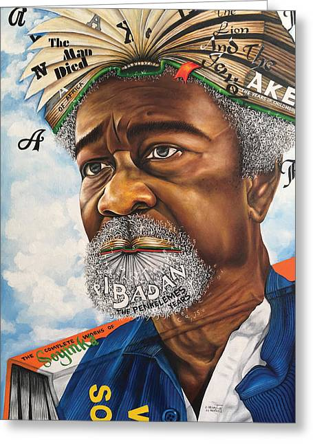 Soyinka An African Literary Icon Greeting Card