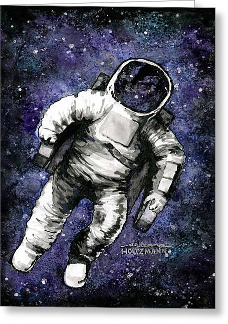 Spaaaaace Greeting Card