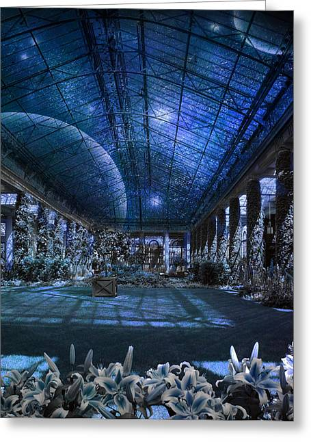 Greeting Card featuring the photograph Space Solarium by John Rivera
