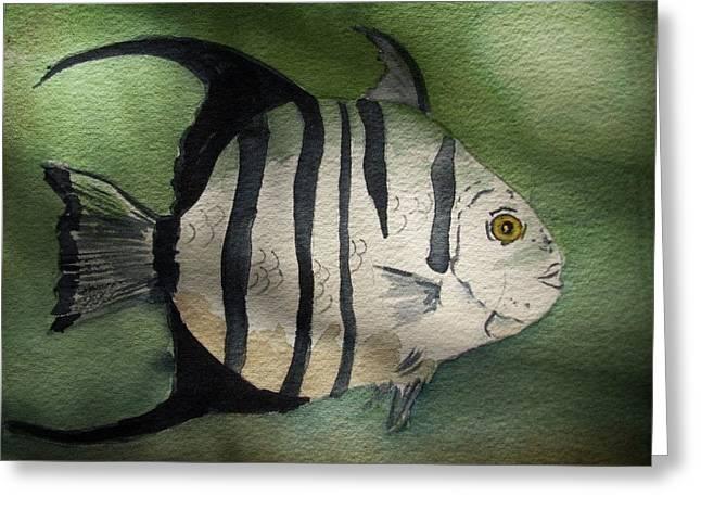 Spadefish Greeting Card