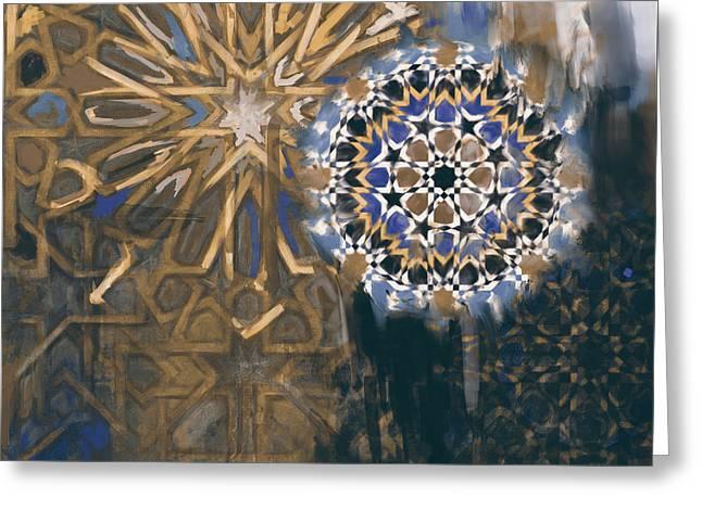 Spanish 167 4 Greeting Card by Mawra Tahreem