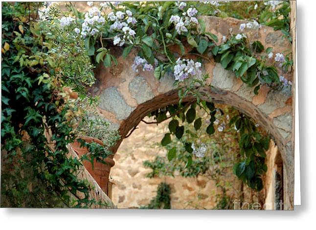 Spanish Archway Greeting Card