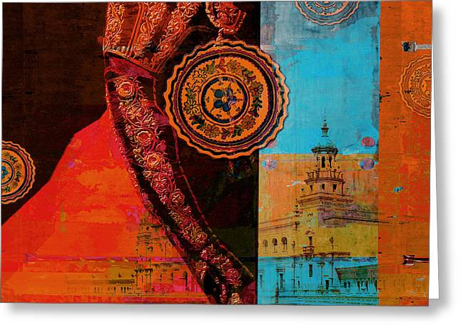 Spanish Culture 21b Greeting Card by Corporate Art Task Force