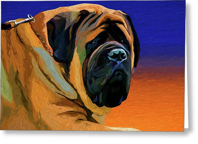 Spanish Mastiff Greeting Card