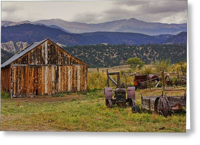 Charles Warren Greeting Cards - Spanish Peaks Ranch 2 Greeting Card by Charles Warren