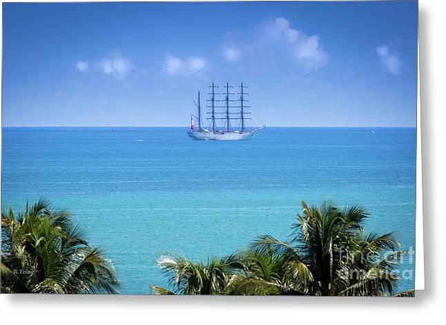 Spanish Ship Juan Sebastian Elcano Royal Spanish Navy Greeting Card