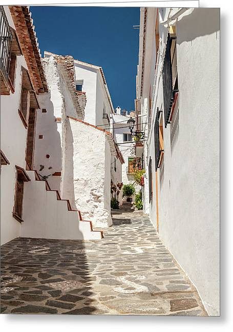 Spanish Street 1 Greeting Card