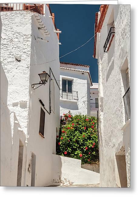 Spanish Street 2 Greeting Card