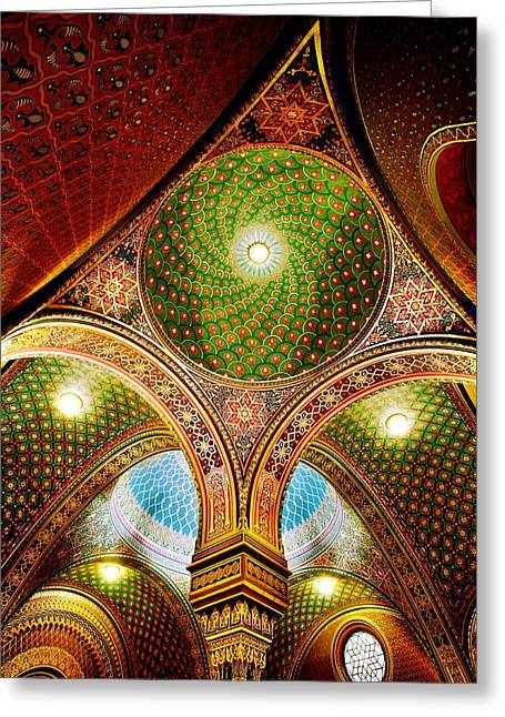 Spanish Synagogue Greeting Card