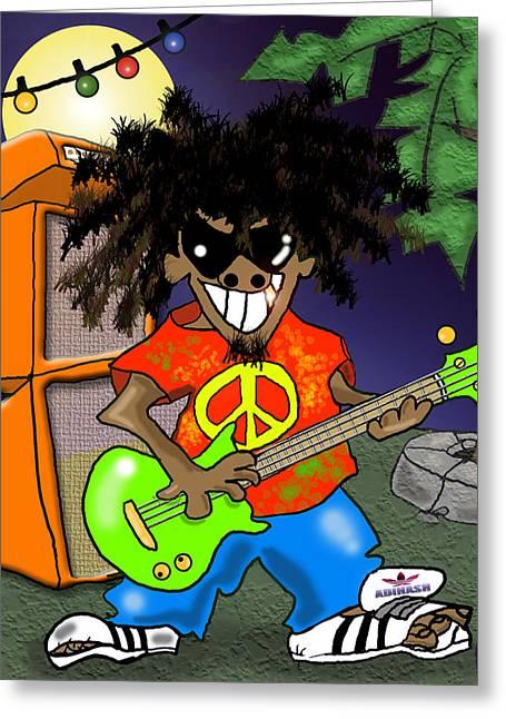 Reggae Greeting Cards Page 13 Of 16 Fine Art America