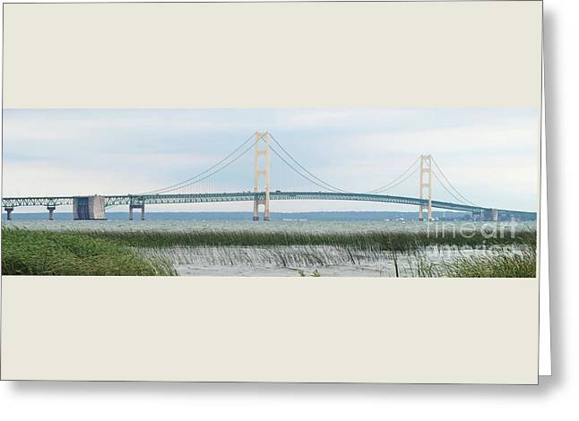 Spanning The Straits Greeting Card