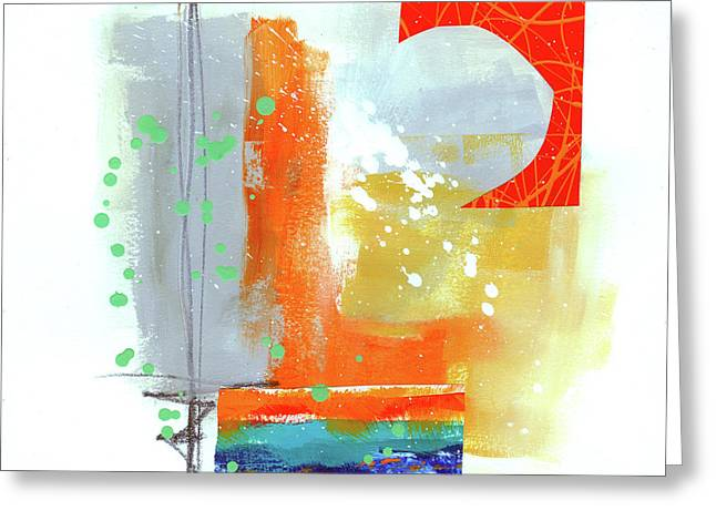 Spare Parts#4 Greeting Card by Jane Davies