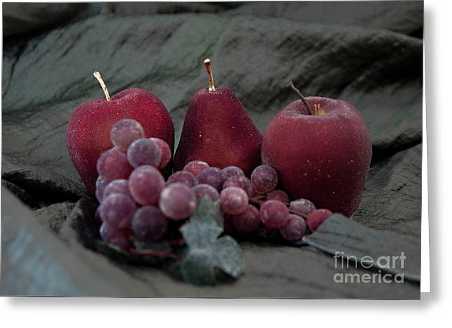 Greeting Card featuring the photograph Sparkeling Fruits by Sherry Hallemeier