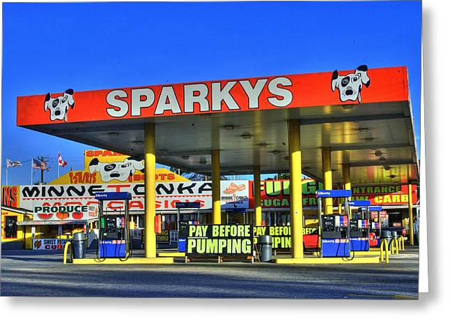 Photographers Duluth Greeting Cards - Sparkeys Greeting Card by Corky Willis Atlanta Photography