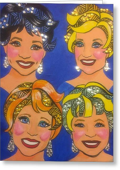 Sparkle Greeting Card by Marilyn Jacobson