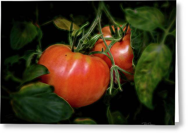 Sparkle Tomatoe Greeting Card
