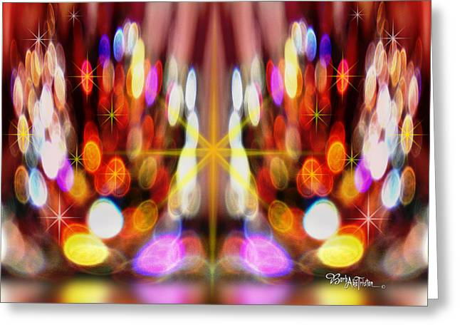 Sparkles #8885_2 Greeting Card by Barbara Tristan