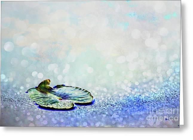 Greeting Card featuring the photograph Sparkling by Aimelle