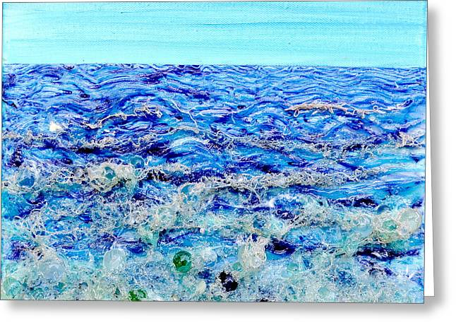 Sparkling Sea Greeting Card
