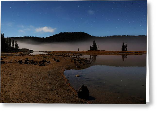 Greeting Card featuring the photograph Sparks Lake At Dawn by Cat Connor