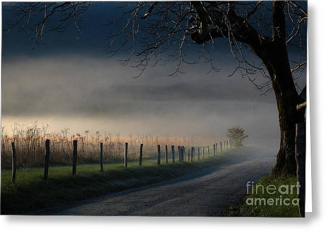 Sparks Lane Sunrise Lr3 Edition Greeting Card