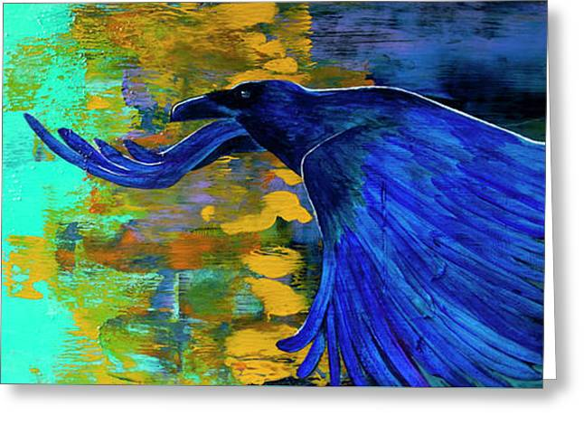 Speak To Me Of Magic Greeting Card by Tracy L Teeter