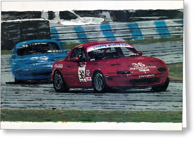 Spec Miata 1 Greeting Card by James Haas