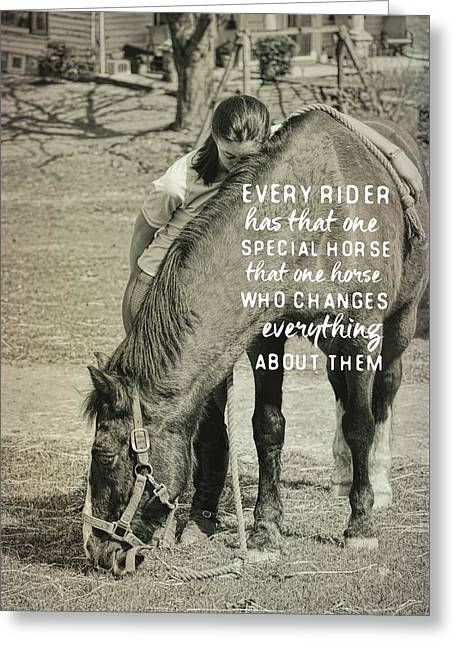 Special Bond Quote Greeting Card