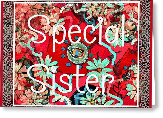 Special Sister Greeting Card
