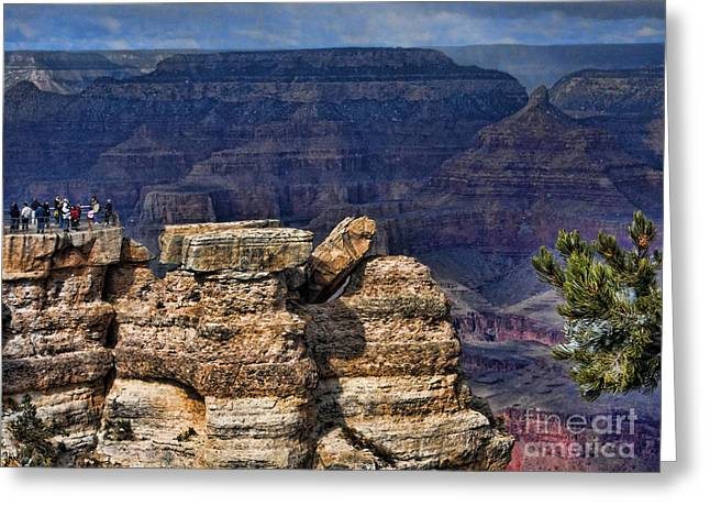 Greeting Card featuring the photograph Spectacular Grand Canyon by Roberta Byram