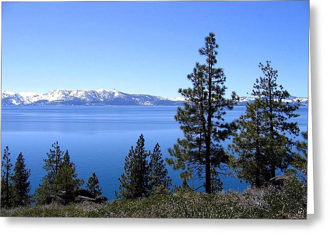 Spectacular Lake Tahoe Greeting Card