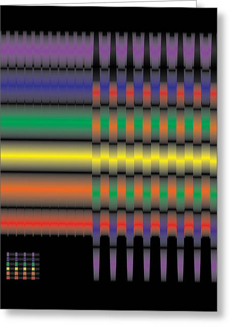 Spectral Integration Greeting Card