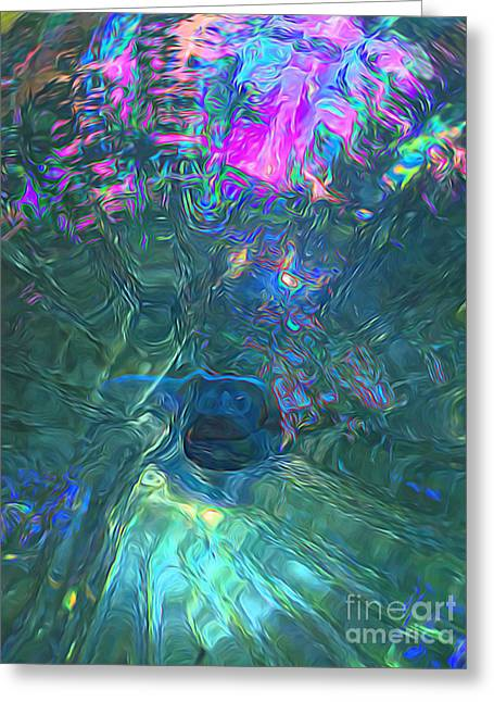 Spectral Sphere Greeting Card