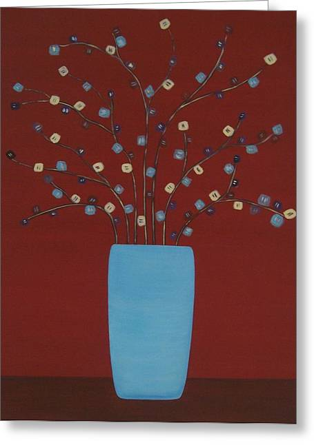 Spectrum Of Foliage Greeting Card by Sandy Bostelman