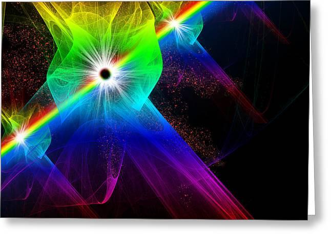Spectrum Greeting Cards - Spectrum Greeting Card by Svetlana Sewell
